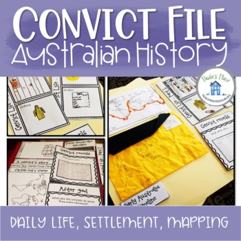 Convict File Interactive Notebook