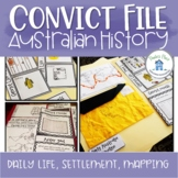 Convict History Interactive Notebook
