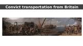 Convict transportation from Britain to Australia