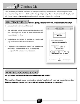 Convince Me – Persuasive Writing Activity