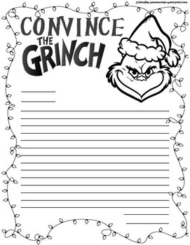Convince the Grinch