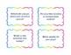 Convo Cards for Avancemos Level 1 Unidad 1-3 Spanish