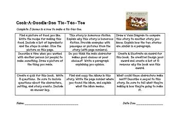 Cook-A-Doodle-Doo Tic Tac Toe