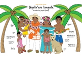 Cook Islands Family Poster