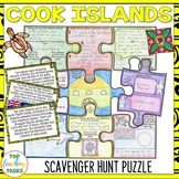 Cook Islands Scavenger Hunt Puzzle Activity | Pacific Islands