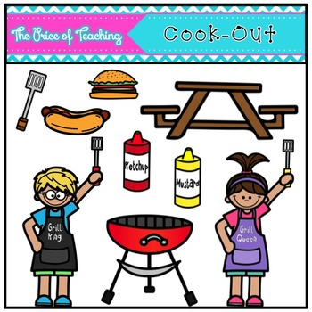 Cook-Out Clipart Set