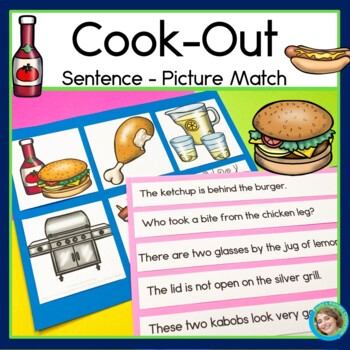 Cook-Out Sentence Picture Match
