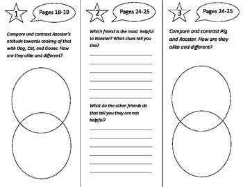 Cook a Doodle Do Trifold - Treasures 3rd Grade Unit 4 Week 1 (2009)