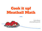 Cook it Up! Meatball Math - Subtraction with Borrowing, Re