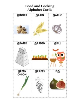 Cook the Alphabet: G is for Ginger