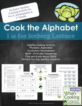 Cook the Alphabet: I is for Iceberg Lettuce