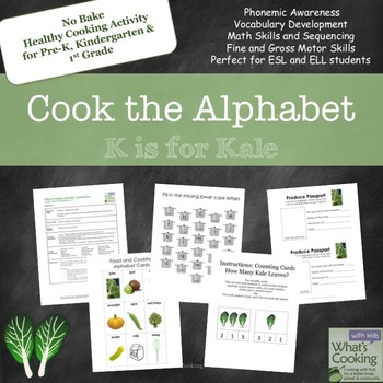 Cook the Alphabet: K is for Kale