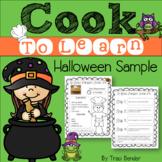 Cook to Learn Halloween Sample {Freebie}