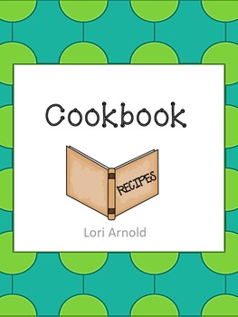 create Your Own Cookbook