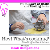 Cookbook Book Reading Activity to Report & Cook for home & distance learning