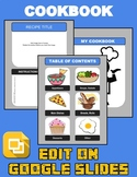 Cookbook Template (Editable in Google Slides)