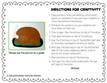 Cooked Turkey Craft