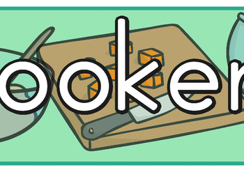 Cookery Display Banner