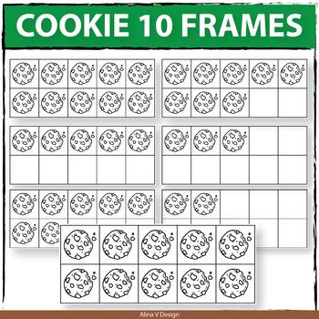 Cookie - 10 Frames