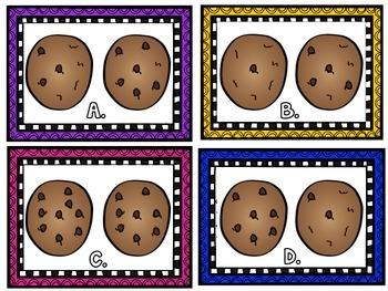 Cookie Addition Math Center