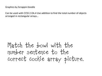 Cookie Arrays