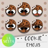 Cookie Emojis Clipart