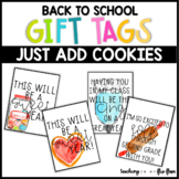 Cookie Back to School Gift Tags