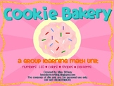 Cookie Bakery: a group math unit