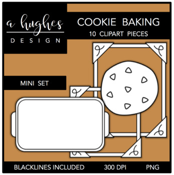 Cookie Baking Mini Clipart Bundle {A Hughes Design}