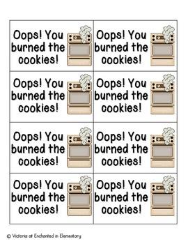 Cookie Baking Phonics: CVC Words Pack