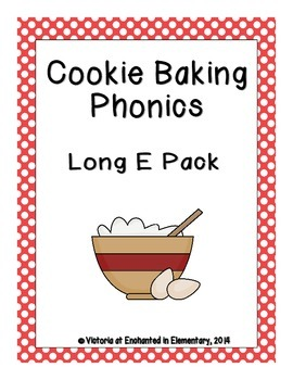 Cookie Baking Phonics: Long E Pack