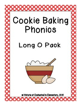 Cookie Baking Phonics: Long O Pack