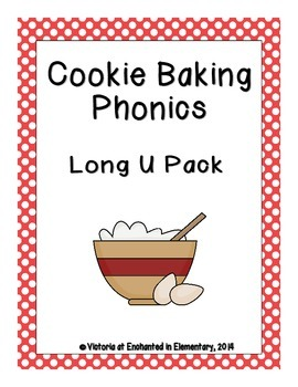 Cookie Baking Phonics: Long U Pack