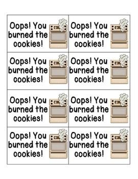 Cookie Baking Phonics: Short E Pack