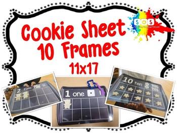Cookie Baking Sheet (Ten Frame) 11x17