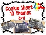 Cookie Baking Sheet (Ten Frame) 8x11