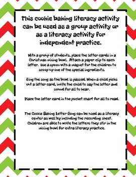 Cookie Baking Time - Letter & Sounds Fun