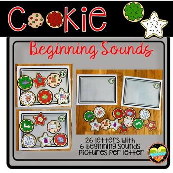Cookie Beginning Sound Center Sorts