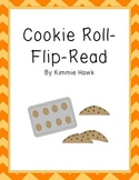 Cookie CVC word Roll-Flip-Read