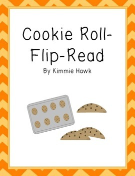 Cookie CVC word Roll-Flip-Read