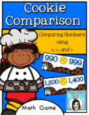 Greater Than or Less Than Comparing Numbers Game