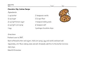 Cookie Comparison Lab