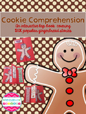 Cookie Comprehension A Gingerbread Story Interactive Lap Book
