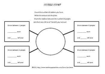 Cookie Count (Division Activity)