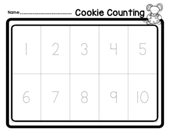 Cookie Counting #1-10