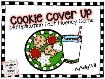 Cookie Cover Up: Multiplication Fact Fluency Game