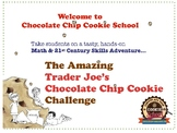 First Day of School Fun CHOCOLATE CHIP COOKIE Critical Thinking PBL Activity