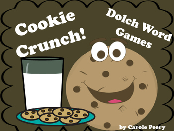 Dolch Word Games Cookie Crunch!
