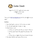 Cookie Crunch Sight Word Game (aligned to 1G IRLA)