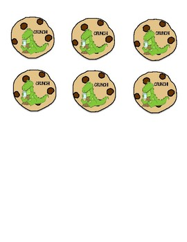 Cookie Crunch Sight Word Game (Editable)